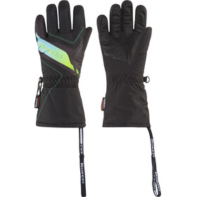 Roeckl Kids Alba Ski Gloves black/ocean